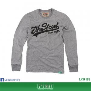เสื้อยืดแขนยาว 7TH STREET - รุ่น 7th Street | Top Dry Grey