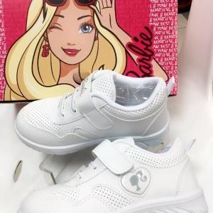 CH07 รองเท้าผ้าใบสีขาว บาร์บี้รุ่น DP-116 ของแท้ 100% ป้ายครบ ใส่สวยไม่มีเอ้าท์ น้ำหนักเบาสบาย
