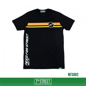 เสื้อยืด 7TH STREET - NEED FOR STREET : BLACK