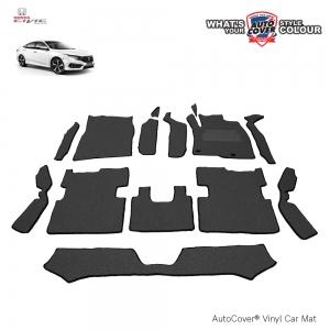 พรมดักฝุ่นไวนิล รถ Honda All New Civic (FC) ปี 2016-2020 ชุด Full จำนวน 14 ชิ้น