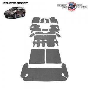 พรมกระดุม Super Save รถ Mitsubishi Pajero Sport 2008-2015 ชุด All Full จำนวน 14 ชิ้น
