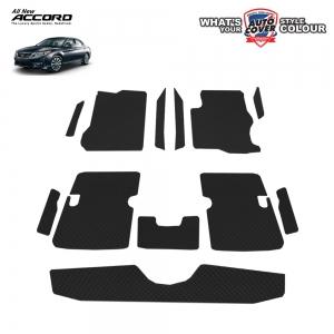 พรมกระดุม Super Save รถ Honda Accord (Gen 9) ปี 2013-2018 ชุด Full จำนวน 12 ชิ้น