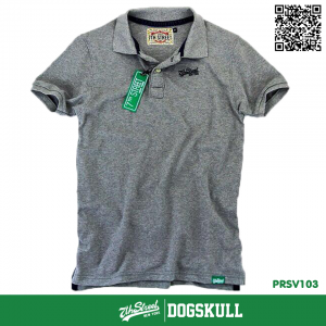 เสื้อโปโล - XL POLO Shirt รุ่น 7th Street | GREY