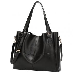 ***พร้อมส่ง*** กระเป๋าหนังแฟชั่นสตรี รหัส BT-734 (B3-013) สีดำ สไตล์เกาหลี สำหรับ สุภาพสตรีทันสมัย ราคาไม่แพง
