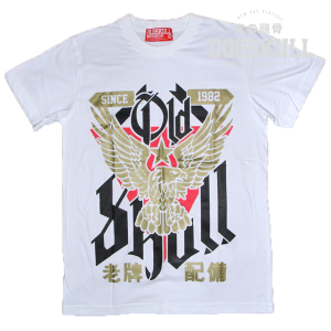 เสื้อยืด OLDSKULL: ULTIMATE #498 | สีขาว