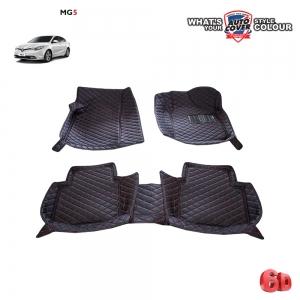 พรมเข้ารูป 6 D Leather Car Mat จำนวน 3 ชิ้น MG 5