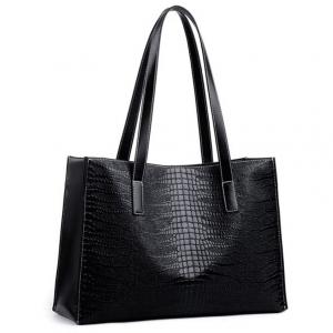 ***พร้อมส่ง*** กระเป๋าแฟชั่นสตรี รหัส BB-0505 (B2-128) สีดำ สไตล์เกาหลี สำหรับ สุภาพสตรีทันสมัย ราคาไม่แพง