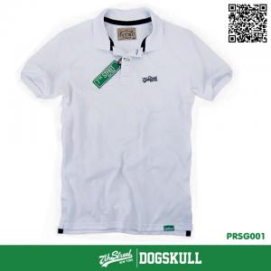 เสื้อโปโล - XL POLO Shirt รุ่น 7th Street | White