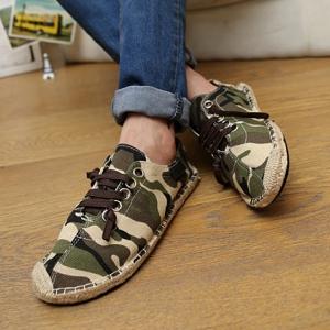 รองเท้าลำลองลายทหาร