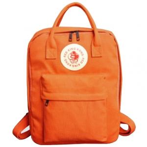 ***พร้อมส่ง*** กระเป๋าแฟชั่นสตรี รหัส CVW-2016 (C4-022) สีส้ม แบบสะพายหลัง สไตล์เกาหลี สำหรับ สุภาพสตรีทันสมัย ราคาไม่แพง