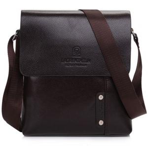 ***พร้อมส่ง*** กระเป๋าหนังแฟชั่น สำหรับสุภาพบุรุษ รหัส MB-6022 (M3-063) สีน้ำตาลเข้ม สไตล์เกาหลี ราคาไม่แพง