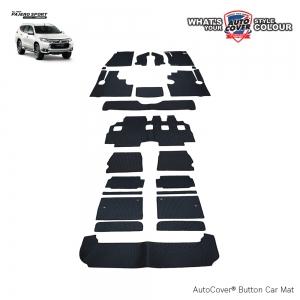 พรมกระดุม Super Save รถ Mitsubishi All New Pajero Sport ปี 2015-2019 ชุด All Full จำนวน 22 ชิ้น