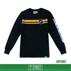 เสื้อยืดแขนยาว 7TH STREET - รุ่น NEED FOR STREET | BLACK