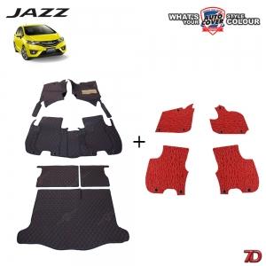 พรมรถยนต์ 7 D Anti Dust รถ HONDA ALL NEW JAZZ (GK) 2014-2019