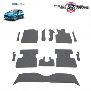 พรมกระดุม Super Save รถ Ford Fiesta ปี 2012-2018 ชุด Full จำนวน 12 ชิ้น