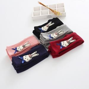 C99-58 กางเกงกันหนาวเด็กลายกระต่ายน้อยน่ารักสีแดง บุขนแบบนุ่มพิเศษ หนา กันหนาวได้ดี อุ่นมากๆค่ะ
