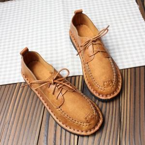 รองเท้าหนังลำลอง MMS2214