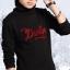 C122-48 เสื้อกันหนาวเด็กสีดำ ปักลายสวย บุขนกำมะหยี่นุ่ม สวย ใส่อุ่นสบาย size 120-160 thumbnail 2