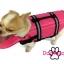 เสื้อชูชีพสุนัข Dogtalog แบบมีรองคอถอดได้ : สีชมพู thumbnail 4