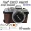 Half Case EM10 Mark 3 ฮาฟเคสกล้องหนัง EM10 Mark III Olympus รุ่นเปิดแบตได้ thumbnail 3