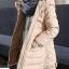 C119-22 เสื้อกันหนาวเด็กสีสวยบุนวม แขนเสื้อยาวกันหนาวได้ มีฮูท สวยอุ่นสบายๆ size 120-160 thumbnail 3