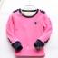 C120-26 เสื้อกันหนาวเด็กสีชมพูสวย รุ่นซูเปอร์ซอฟท์ ปักลายน่ารัก ผ้านุ่มมาก ใส่อุ่นสบายๆ thumbnail 2