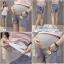 ยีนส์ขาสั้นคนท้อง สกีนลาย มีผ้ารองที่หน้าท้อง เอวปรับได้ ใส่สบายเนื้อยีนส์นิ่มค่ะ thumbnail 1