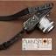 สายกล้องผ้าปรับสายได้ รุ่นปลายหนังแท้ สีดำ thumbnail 7