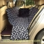 ผ้าปูกันเปื้อนในรถยนต์ : สีดำลายเท้าหมา thumbnail 3