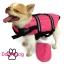 เสื้อชูชีพสุนัข Dogtalog แบบมีรองคอถอดได้ : สีชมพู thumbnail 2