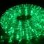 ไฟท่อ LED 2 สาย กลม สีเขียว เกรด A thumbnail 1