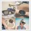 folding sunglasses + ขายางรัด สีดำล้วน thumbnail 8