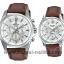 นาฬิกา Casio SETคู่รัก EDIFICE x SHEEN รุ่น EFR-560L-7A + SHE-3060L-7A ของแท้ รับประกัน 1 ปี thumbnail 1
