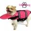 เสื้อชูชีพสุนัข Dogtalog แบบมีรองคอถอดได้ : สีชมพู thumbnail 6