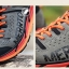 รองเท้าผ้าใบหนังแท้ ยี่ห้อ Merrto รุ่น 8619 สีเทา/ส้ม thumbnail 3