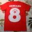 เสื้อยืดการ์ตูน ลาย GERRARD สีแดง thumbnail 2