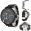 นาฬิกาข้อมือ ดีเซล Diesel Black Dial Black Silicone Bracelet Men's Watch รุ่น DZ7278 thumbnail 4