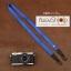 สายคล้องกล้อง cam-in สีพื้นเส้นเล็ก สีน้ำเงินสว่าง แบบห่วง 25 mm thumbnail 1