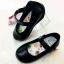CH03 รองเท้านักเรียนสีดำคิตตี้รุ่น KTL-280 ซิปแซป(ตีนตุ๊กแก) ของแท้ 100% ป้ายครบ ใส่สวยไม่มีเอ้าท์ น้ำหนักเบาสบาย thumbnail 1