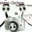 สายคล้องกล้องลายการ์ตูน Panda Strap สีดำ thumbnail 4