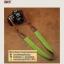 สายคล้องกล้องแฟชั่นสวยๆ รุ่นกันลื่น 38 mm สีพื้นเขียวหญ้าปลายน้ำตาล thumbnail 7