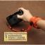 สายคล้องกล้องไนล่อน เส้นเล็ก สีส้มสว่าง thumbnail 5