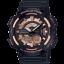 """นาฬิกา Casio 10 YEAR BATTERY AEQ-110 series รุ่น AEQ-110W-1A3V """"Black & Rose Gold"""" ของแท้ รับประกัน 1 ปี thumbnail 1"""