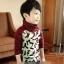 C117-33 เสื้อกันหนาวเด็กชาย พิมพ์ลายสวย ผ้ามีขนนุ่มๆเพิ่มความอบอุ่น สวมใส่สบาย size 110-160 thumbnail 2