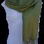 ผ้าพันคอ รับลมหนาว ( สีพื้นเขียวเท่า )