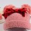 CH115-36 หมวกไหมพรมกันหนาวบุขนนุ่มเพิ่มความอบอุ่น สีสวย สำหรับเด็ก 2-8 ปี พร้อมส่ง thumbnail 6