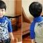 C117-33 เสื้อกันหนาวเด็กชาย พิมพ์ลายสวย ผ้ามีขนนุ่มๆเพิ่มความอบอุ่น สวมใส่สบาย size 110-160 thumbnail 3
