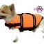 เสื้อชูชีพสุนัข Dogtalog แบบมีรองคอถอดได้ : สีส้ม thumbnail 5