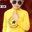 C116-43 เสื้อกันหนาวเด็กชายสีเหลือง พิมพ์ลายสวย ผ้ามีขนนุ่มๆเพิ่มความอบอุ่น สวมใส่สบาย size 120 พร้อมส่ง thumbnail 3