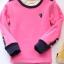 C120-26 เสื้อกันหนาวเด็กสีชมพูสวย รุ่นซูเปอร์ซอฟท์ ปักลายน่ารัก ผ้านุ่มมาก ใส่อุ่นสบายๆ thumbnail 1
